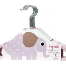 3Sprouts_Hanger_Pink_Elephant